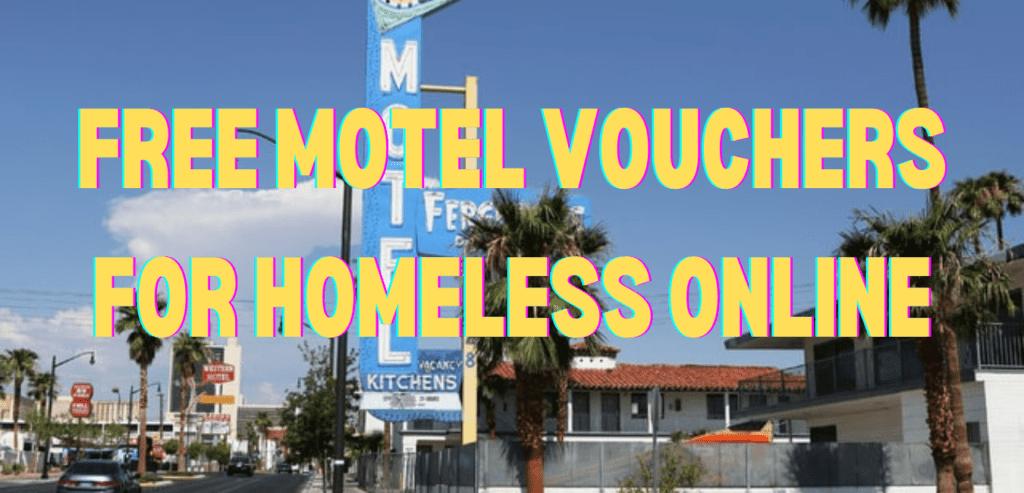 Free Motel Vouchers for Homeless Online