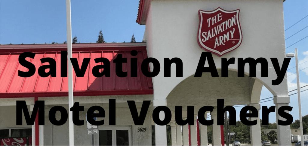Salvation Army Motel Vouchers
