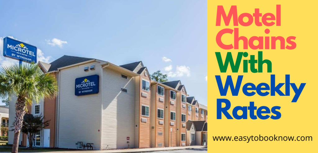 Cheap Motel Chains With Weekly Rates Near Me