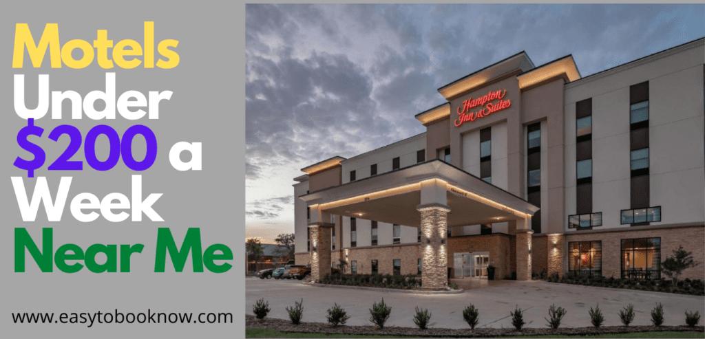 Best Motels Under $200 a Week Near Me